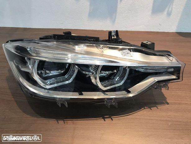 farol BMW F30 + F31 full Led Adaptativ lado direito