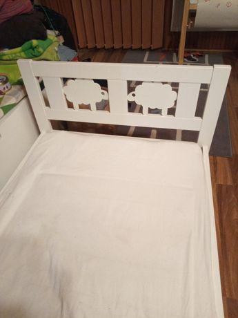 Łóżko łóżeczko dla dzieci Ikea KRITTER 70x160cm spód oraz materac