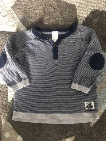 Sweter chłopięcy hm 74
