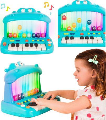 B.Toys Pianinko skaczące ptaszki muzyka i światło