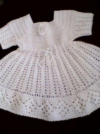 sukieneczka szydełówa