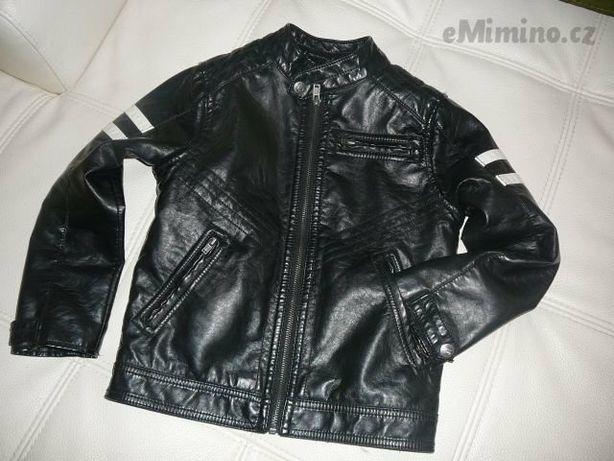 Кожаная куртка для маленьких байкеров . Размер  128