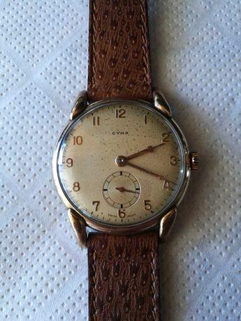 Relógio Cyma antigo, corda manual