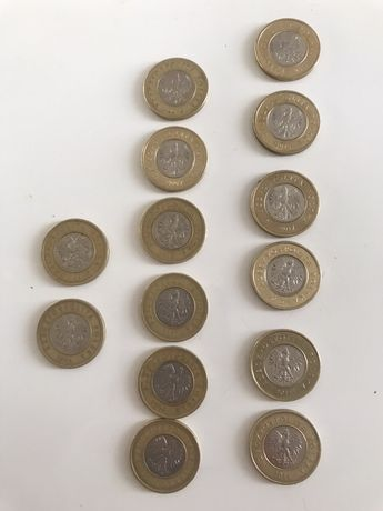 Komplet monet 2zł z każdego roku emisji