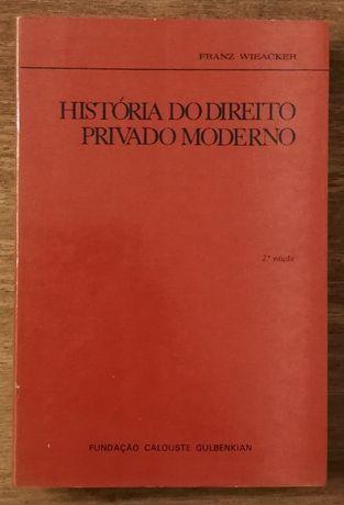 história do direito privado moderno, franzwiecker