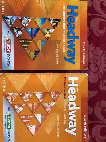 Учебник и тетрадь Headwey по Английскому языку