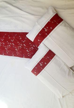 Pościel Haftowana 220x220 bawełna satynowa przepiękna !!!