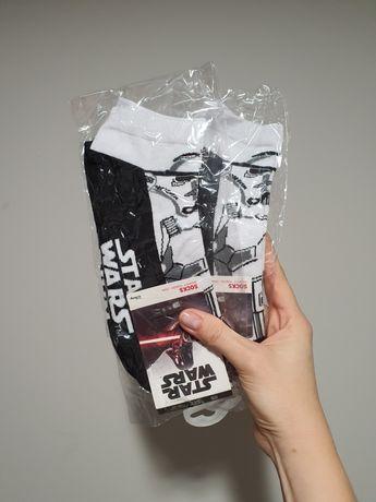 Star Wars skarpetki stopki STORMTROOPER Disney One size rozm. 39-46