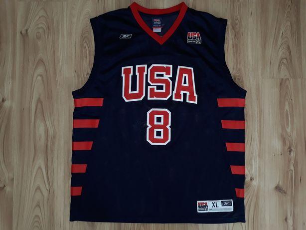 Koszulka Reebok XL Kobe Bryant 8 reprezentacji USA LA Lakers