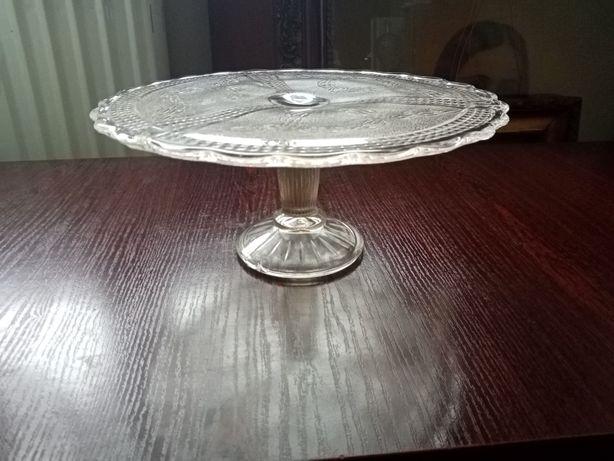 Patera na Tort krysztalowa kryształ