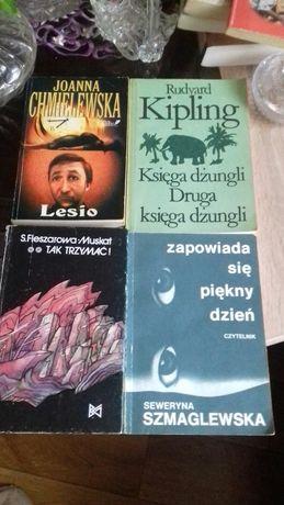 Książki -literatura obyczajowa