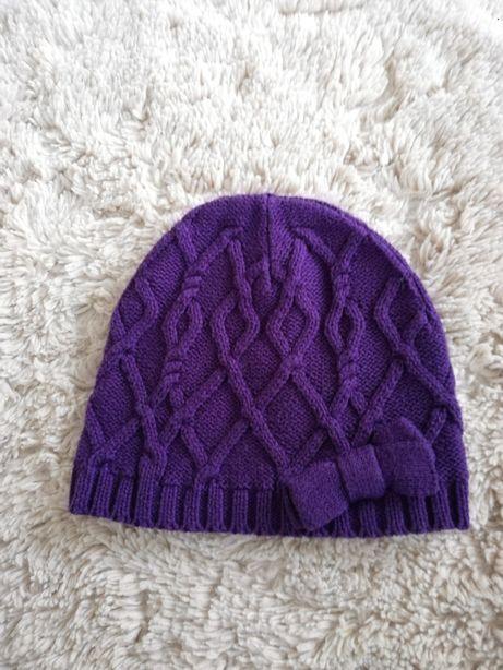 H&M czapka dziewczęca rozmiar 104-116 cm