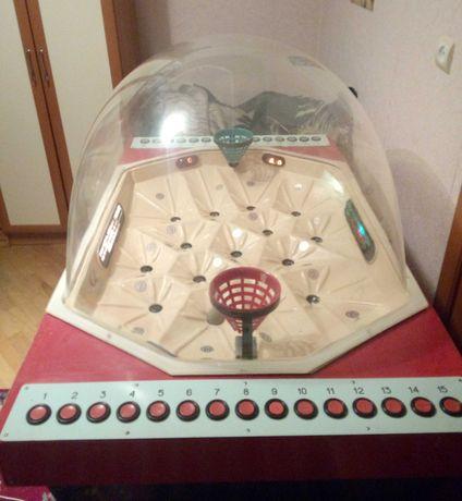 Музейный экспонат Автомат СССР! Баскетбол. СоюзАтракцион