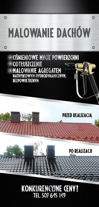 Malowanie Dachów-Konstrukcji Stalowych