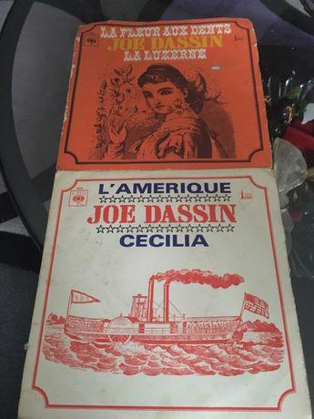 2 singles vinil Joe Dassim