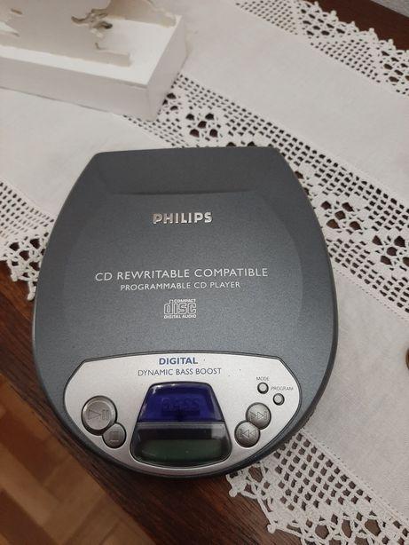 Diskman Philips Bass Boost