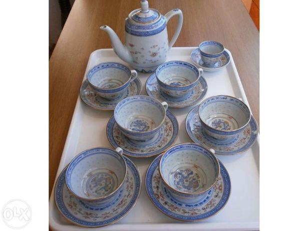 Serviço de Chá Chinês antigo
