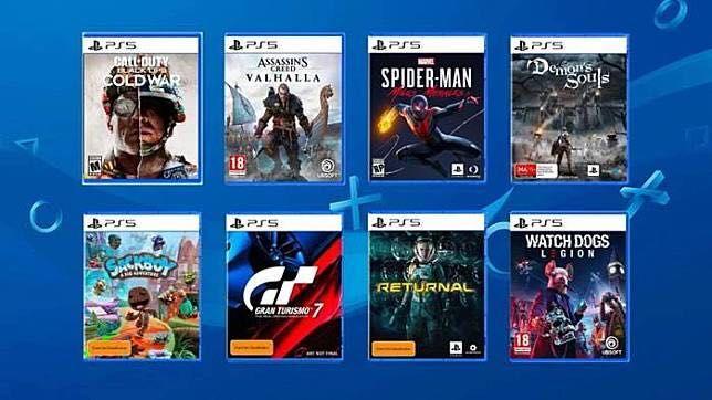 Игры PlayStation 4 ps5