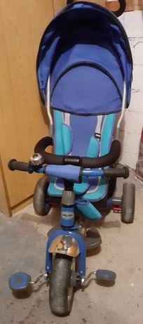 Rower  trojkolowy baby mix niebieski