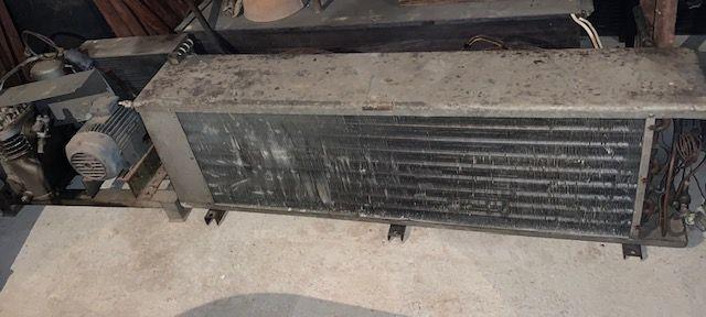compressor de câmara frigorífica com motor e difusor c/ 2 ventiladores