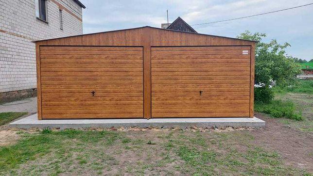 Garaż drewnopodobny 6x5 4x6 6x6 KONSTRUKCJA PROFIL