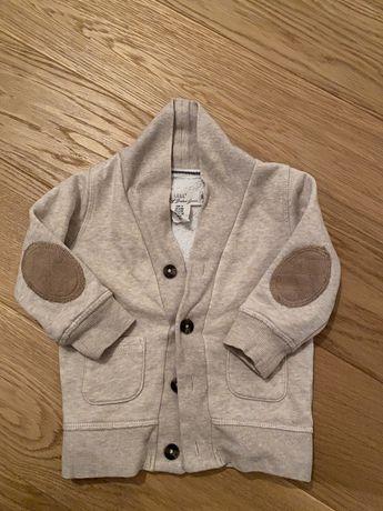 Elegancki sweterek hm r 74 bezowy