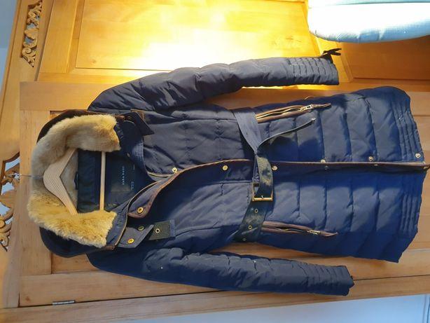 Płaszcz puchowy Zara Basic XS