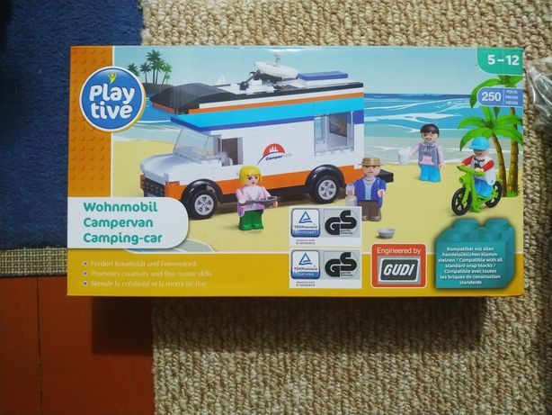Конструктор Playtive Автодом, аналог Lego