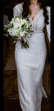 *Suknia Ślubna Jasmine Empire BOHO*