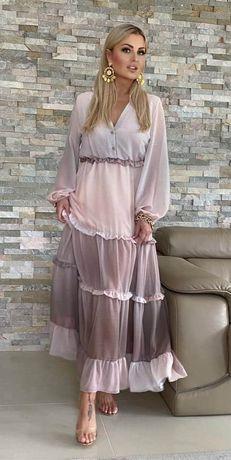 By o La La piękna długa sukienka s m