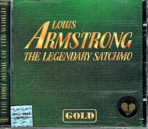 LOUIS ARMSTRONG The Legendary Satchmo GOLD Collection - album CD
