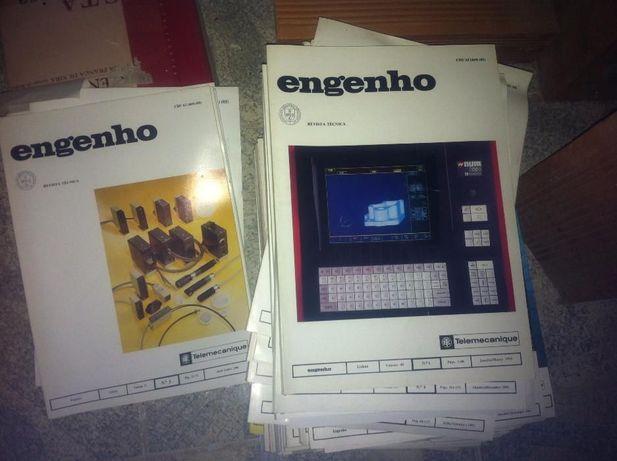 58 Revistas Técnicas Engenho - de 1983 a 2000