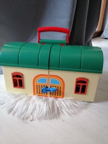Zestaw playmobil pociąg stacja kolejowa