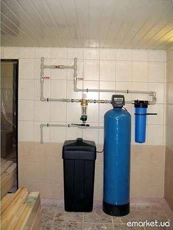 Фильтры водоподготовка водоочистка засыпки клапана