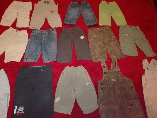 Spodnie chłopięce roz 74 -86