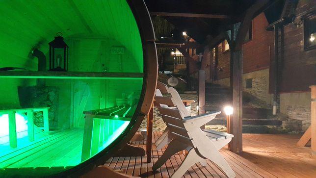 Domki z bala Szczyrk / sauna / morsowanie / ruska bania /