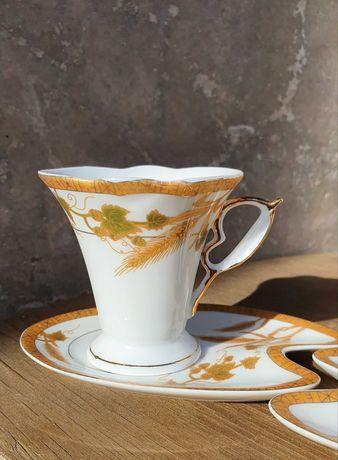 Фарфоровые чашки для эспрессо