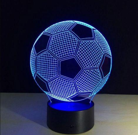 Светильник 3D мяч / ночник/настольная лампа/подарок