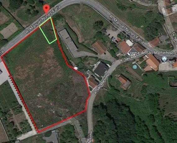 Sto Tirso, Sequeirô. Vendo 500m2 a 8100m2 de terreno construção.