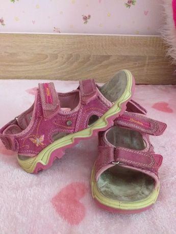 Босоножки/сандали  натуральная замша 19см