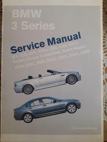 Książka bmw 3 series E46  service manual