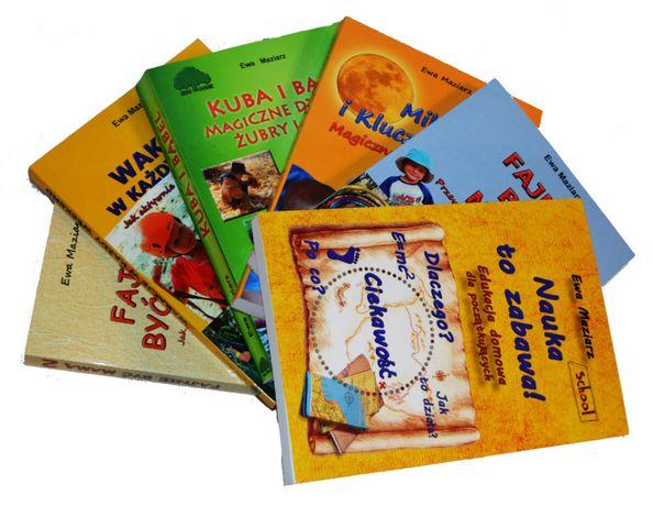 Edukacja domowa dla każdego od podstaw 6 książek