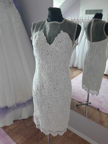 Krótka sukienka na cywilny