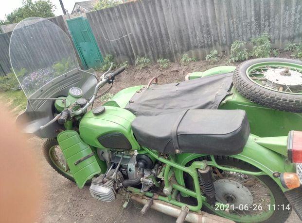 Мотоцикл Днепр МТ-11 1989г.в пробег 6600