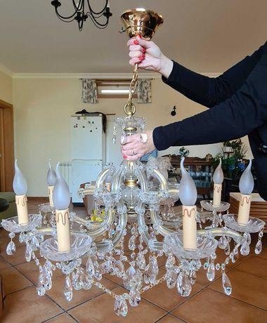 Candeeiro em Cristal: 450€