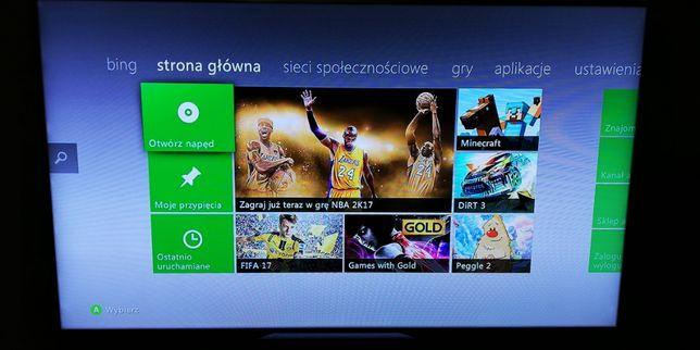 Konsola Xbox 360 E slim 250 GB model 1538