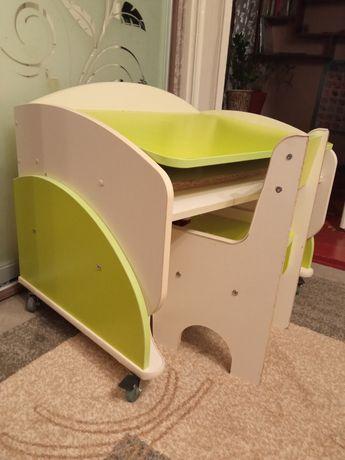 Столик с стульчиком, стол для творчества, парта