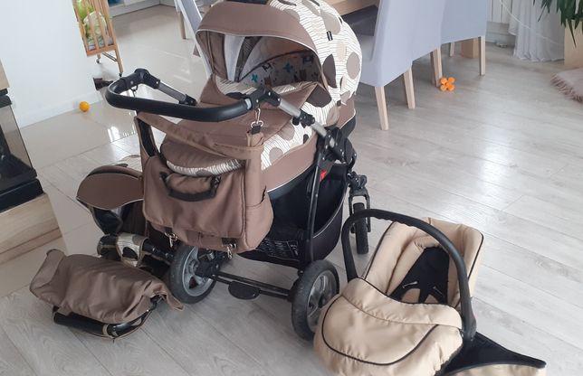 Wózek Kajtex 3w1