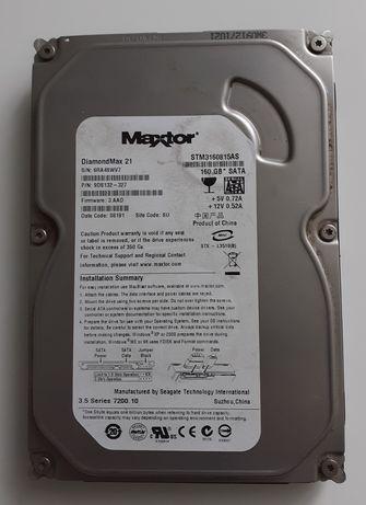 Dysk Maxtor 160 GB SATA