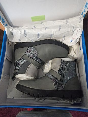 Демисезонные ботинки для девочки CHETTO, 20 см